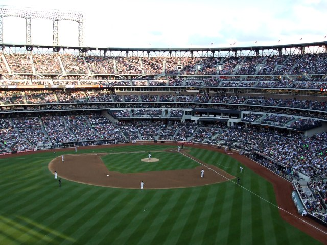 Citi Field - fans were chill and easy going, at least where I was sitting