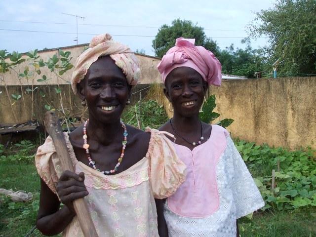 Manssata Kondira and Fatou Mbiaye,